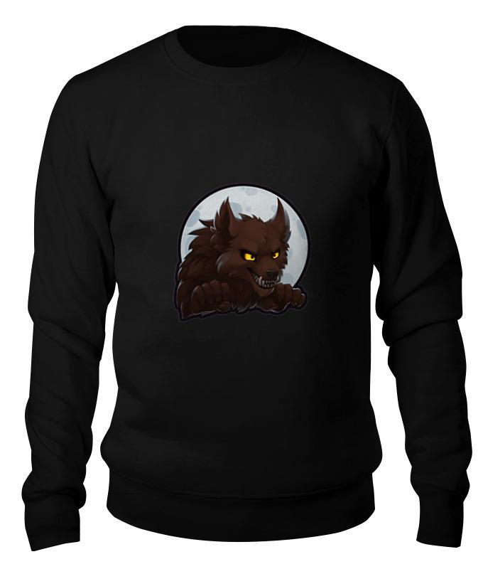 Printio Свитшот унисекс хлопковый Werewolf