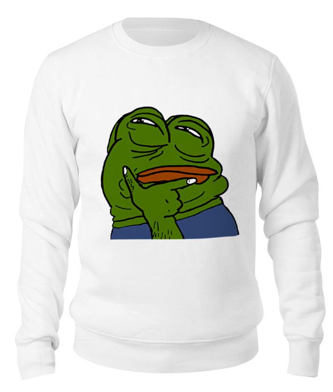 Фото - Printio Свитшот унисекс хлопковый Pepe the frog printio сумка pepe the frog whant some love
