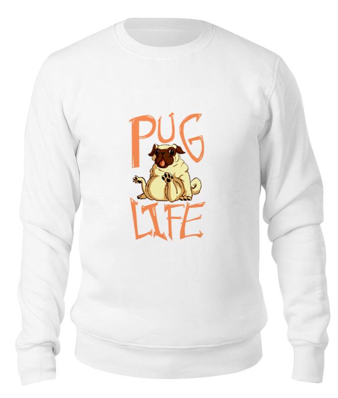 Printio Свитшот унисекс хлопковый Pug life printio свитшот унисекс хлопковый pug fan print