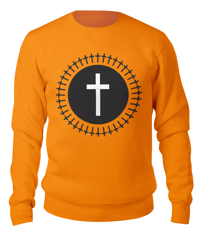 Printio Свитшот унисекс хлопковый Кресты