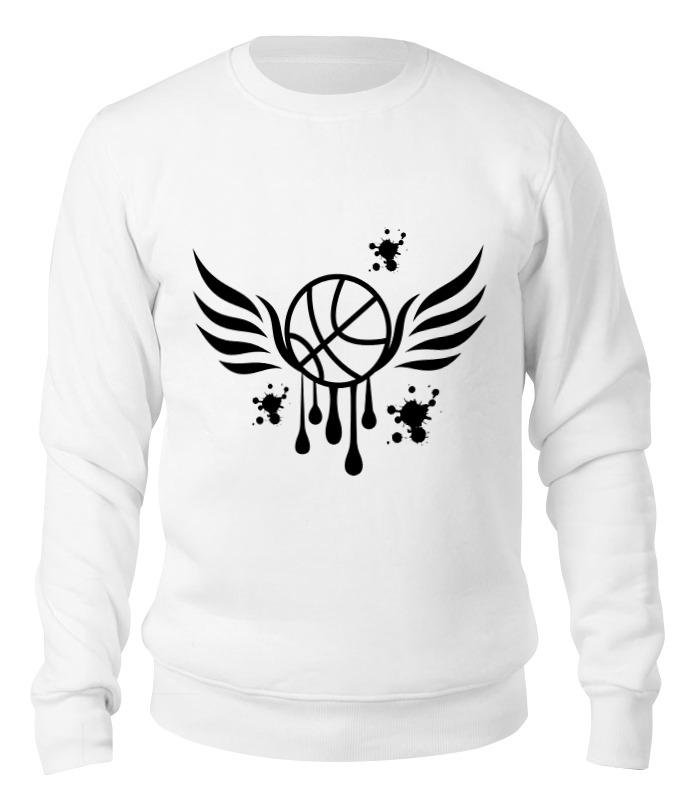 Printio Свитшот унисекс хлопковый Баскетбольный мяч