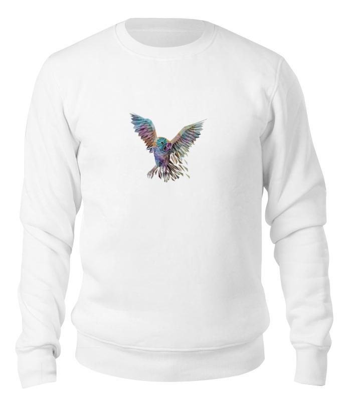 Printio Свитшот унисекс хлопковый Геометрическая сова printio свитшот унисекс хлопковый геометрическая сова