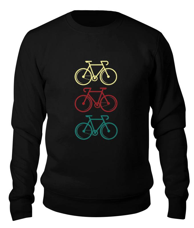 Printio Свитшот унисекс хлопковый Велосипеды