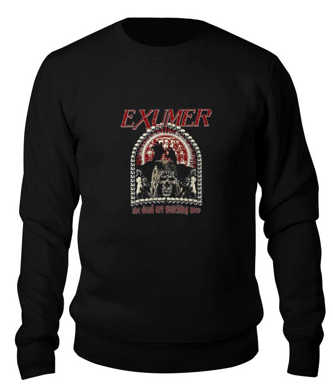 Printio Свитшот унисекс хлопковый Exumer (thrash metal band) printio детская футболка классическая унисекс exumer thrash metal band