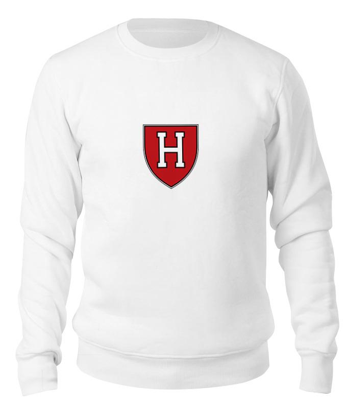 Printio Свитшот унисекс хлопковый Гарвард кримсон (harvard crimson)