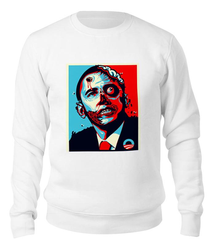 Printio Свитшот унисекс хлопковый Обама