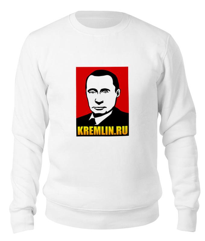 Printio Свитшот унисекс хлопковый Путин