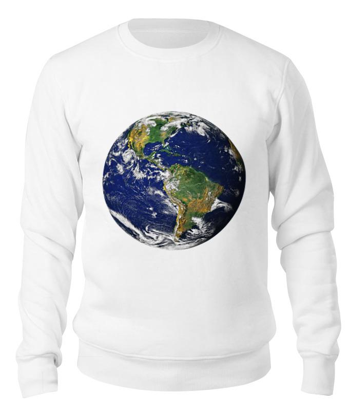 Printio Свитшот унисекс хлопковый Планета земля