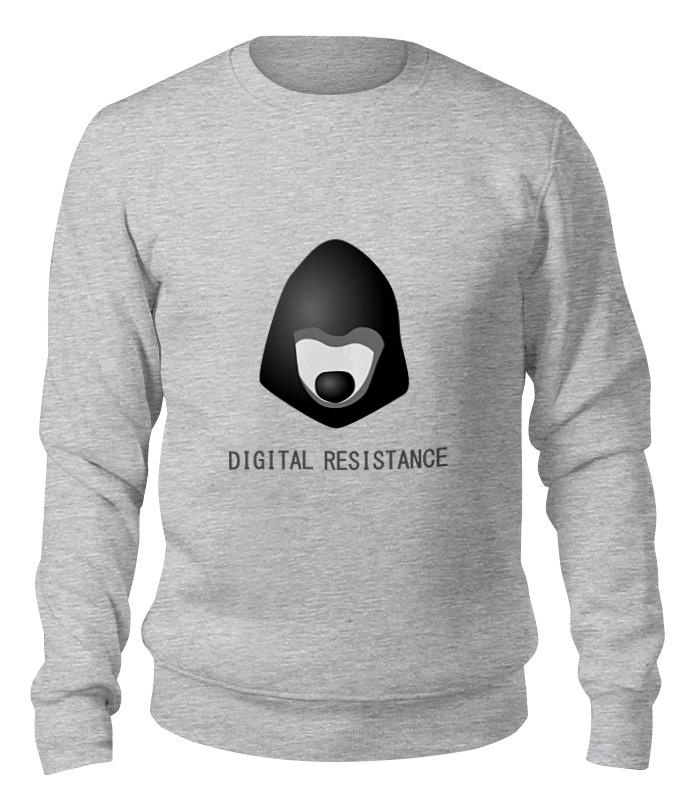 Printio Свитшот унисекс хлопковый цифровое сопротивление