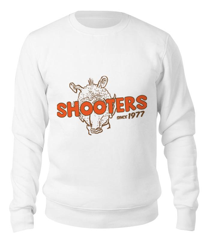 Printio Свитшот унисекс хлопковый Shooters printio футболка классическая shooters