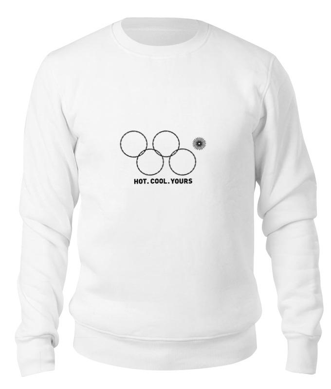 Printio Свитшот унисекс хлопковый Олимпийские кольца в сочи 2014