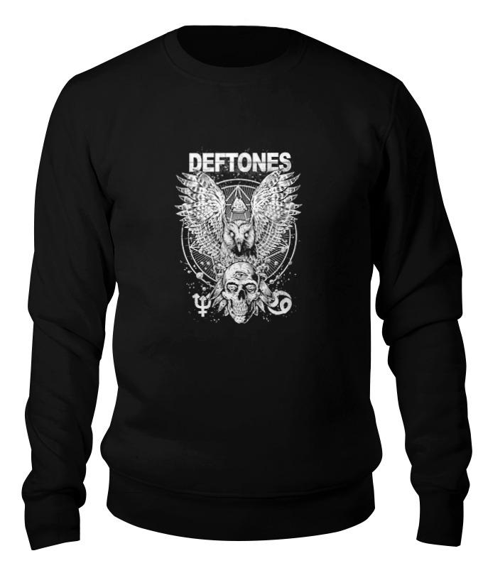 Printio Свитшот унисекс хлопковый Deftones