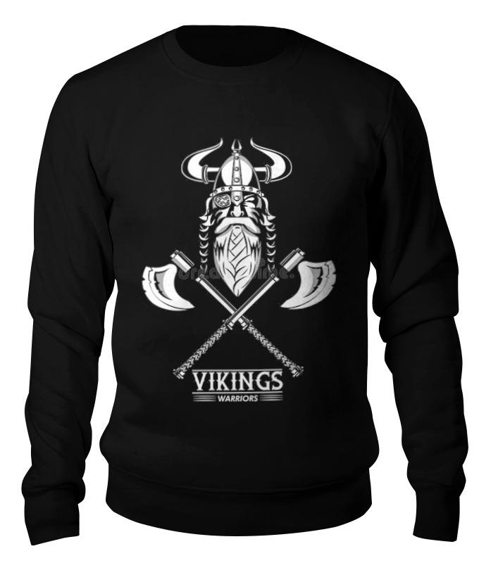 Printio Свитшот унисекс хлопковый Свитшот vikings warriors printio свитшот унисекс хлопковый свитшот vikings warriors
