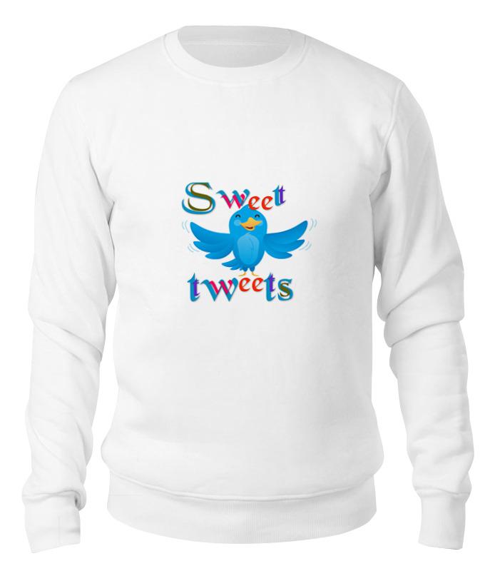 Printio Свитшот унисекс хлопковый Sweet tweets свитшот sweet years sweet years sw012emglfs7
