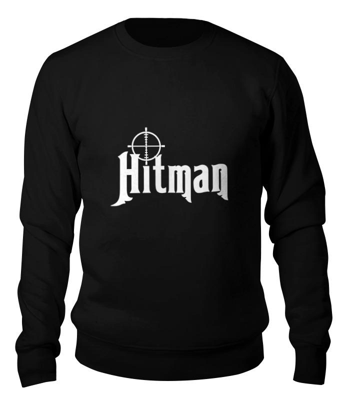 printio hitman Printio Свитшот унисекс хлопковый Hitman