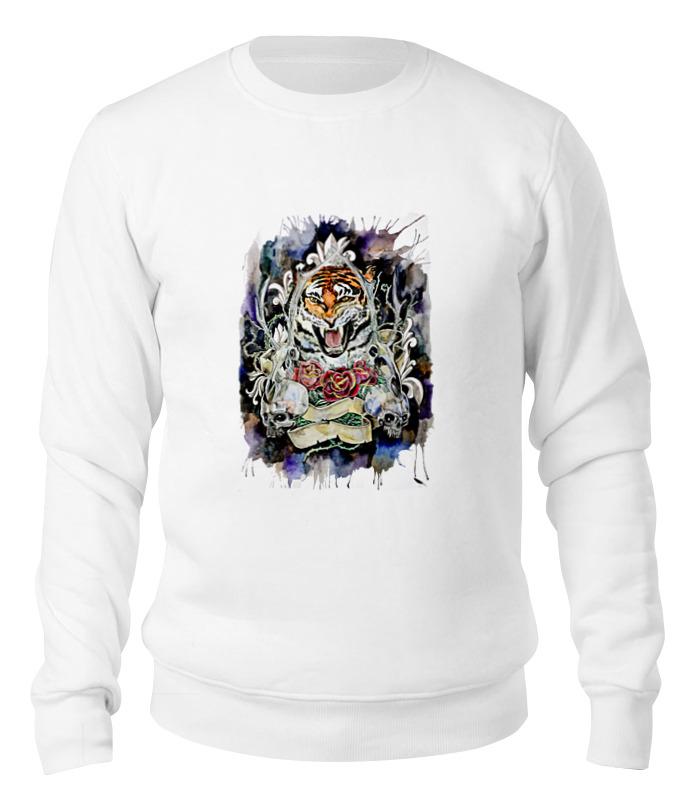 Printio Свитшот унисекс хлопковый тигр old school сумка printio тигр old school