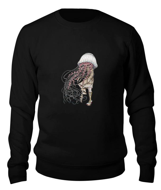 Printio Свитшот унисекс хлопковый Медуза