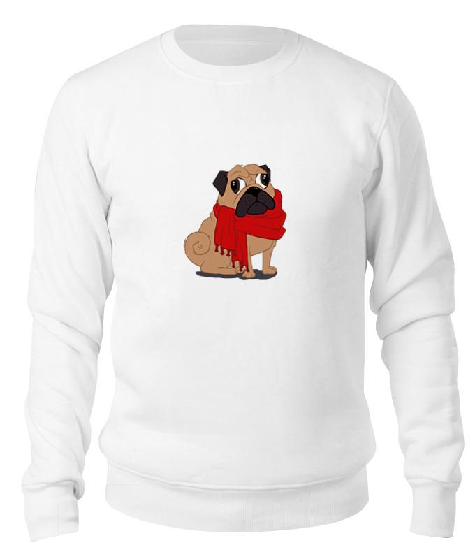 Printio Свитшот унисекс хлопковый Мопс (pug) printio свитшот унисекс хлопковый pug fan print