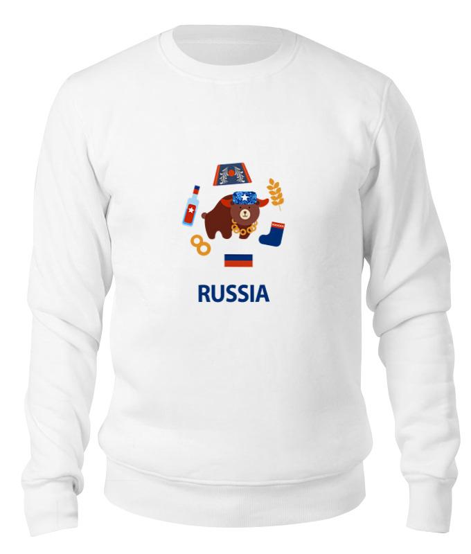 Printio Свитшот унисекс хлопковый Россия (russia)
