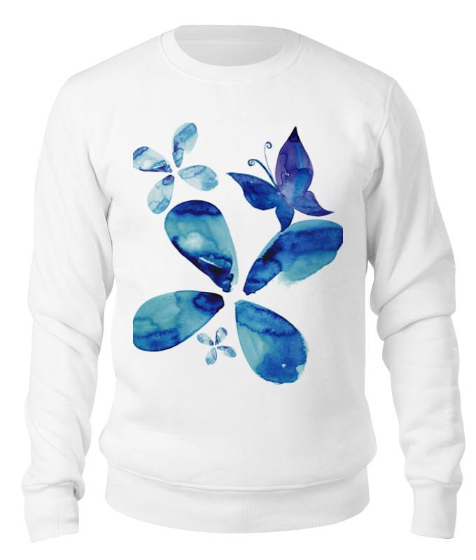 Printio Свитшот унисекс хлопковый Sweet spring (blue) свитшот sweet years sweet years sw012emglfs7