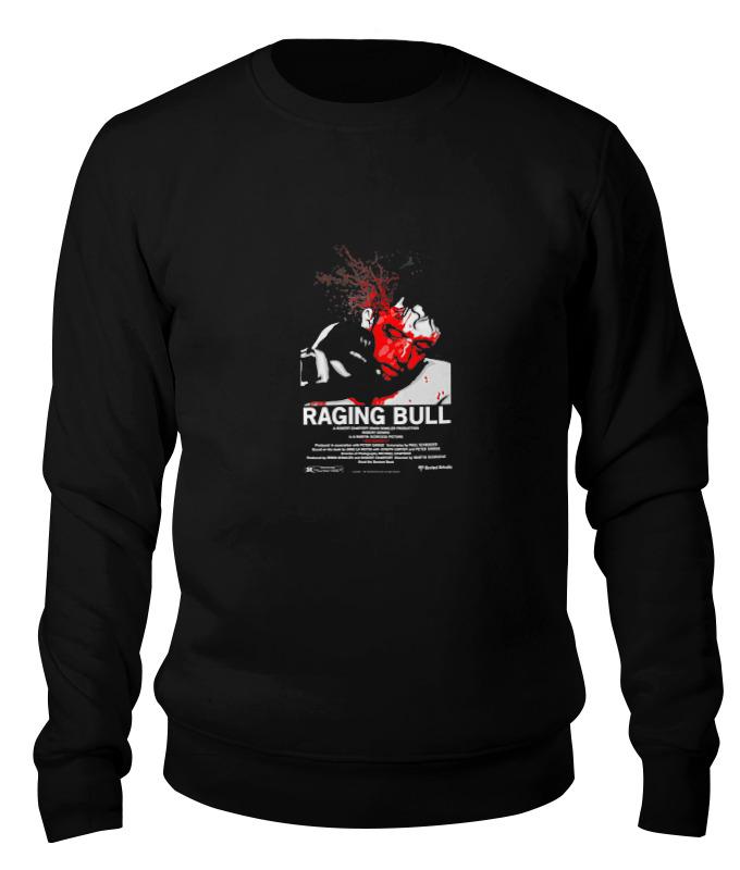 Printio Свитшот унисекс хлопковый Raging bull / бешеный бык printio детская футболка классическая унисекс raging bull бешеный бык