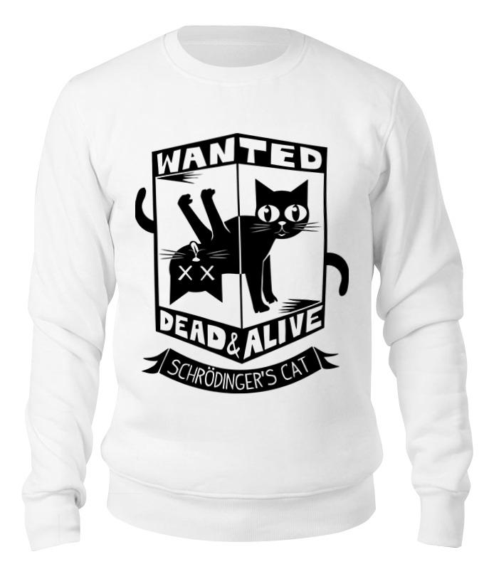 Printio Свитшот унисекс хлопковый Кот шрёдингера (dead alive) printio детская футболка классическая унисекс кот шрёдингера dead alive