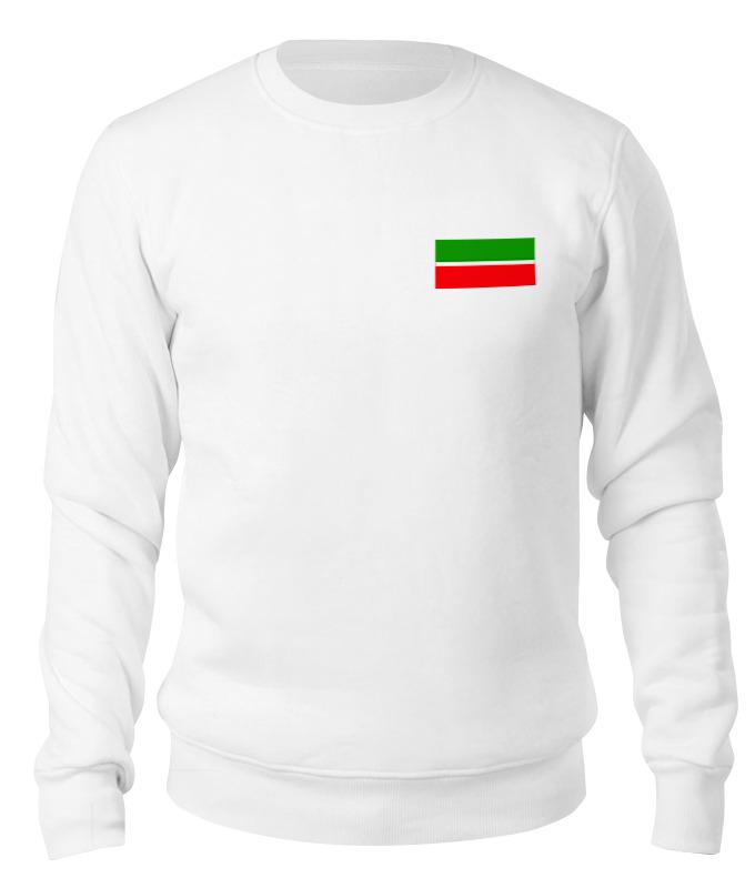 Printio Свитшот унисекс хлопковый Флаг татарстана