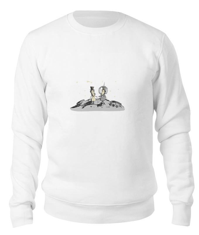 Printio Свитшот унисекс хлопковый Пушкин и доппельгангер printio детская футболка классическая унисекс пушкин и доппельгангер