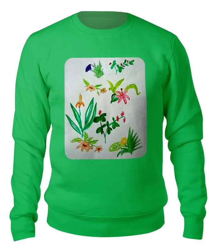 Printio Свитшот унисекс хлопковый Ботаника