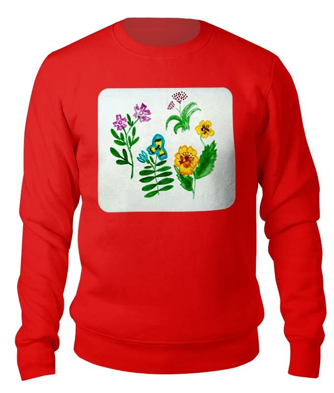 Printio Свитшот унисекс хлопковый Полевые цветы