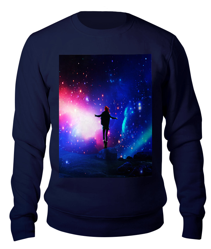 Printio Свитшот унисекс хлопковый Космос printio свитшот унисекс хлопковый космос небо звезды