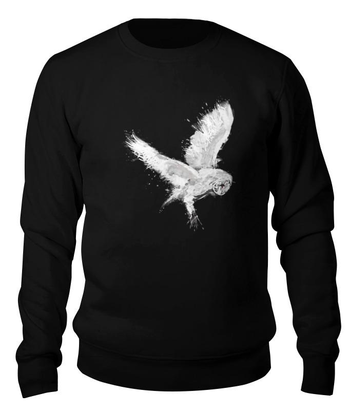 Printio Свитшот унисекс хлопковый Белая сова printio свитшот унисекс хлопковый геометрическая сова