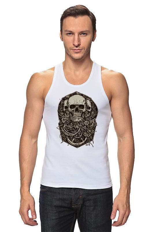 Printio Майка классическая Skulls