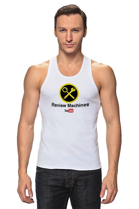 Printio Майка классическая Review machines
