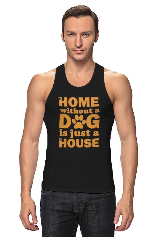 Printio Майка классическая Дом без собаки, не дом
