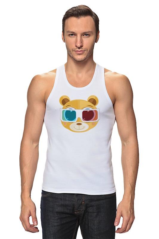 Printio Майка классическая Медведь 3д
