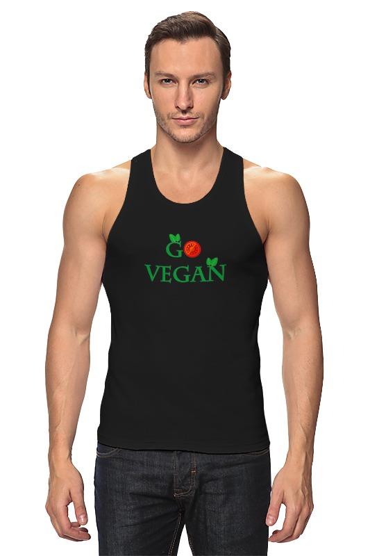 Printio Майка классическая Go vegan
