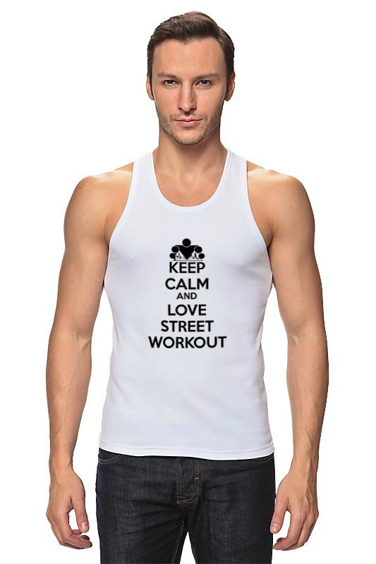 Printio Майка классическая Keep calm and love street workout майка mishka keep watch or die black 2xl