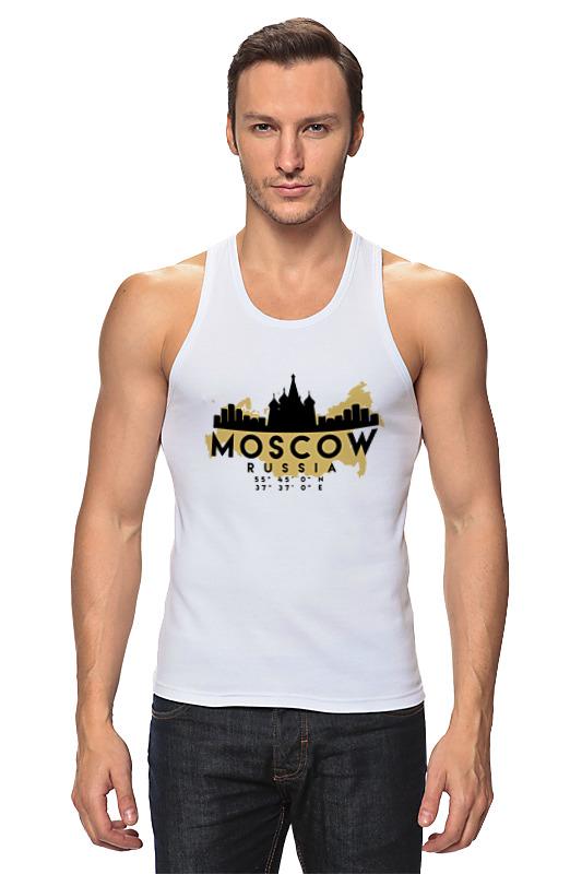 Printio Майка классическая Москва (россия)