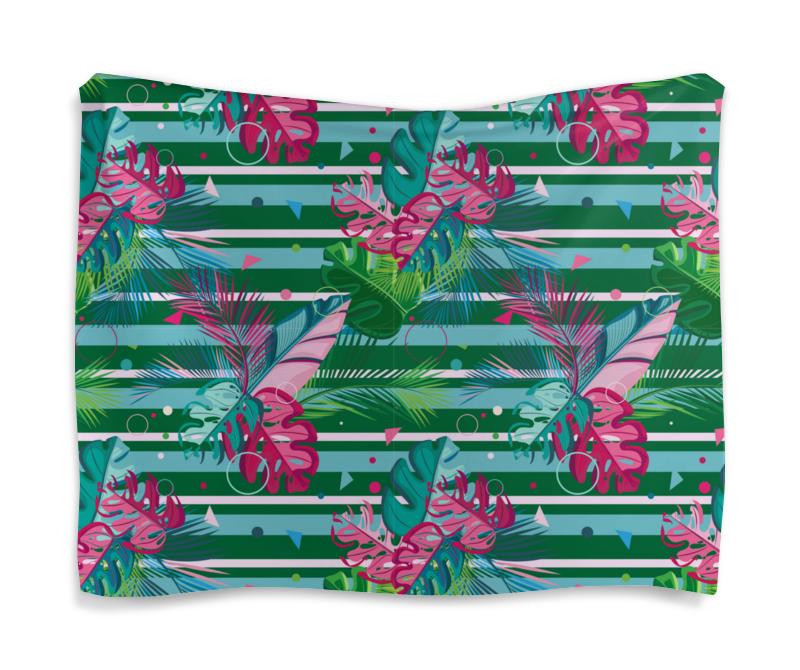 Фото - Printio Гобелен 180х145 Полосатые тропики printio подушка для шеи полосатые тропики