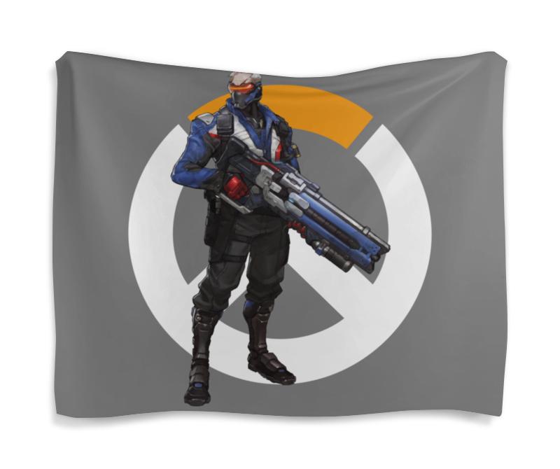 Printio Гобелен 180х145 Overwatch soldier 76 / овервотч солдат 76