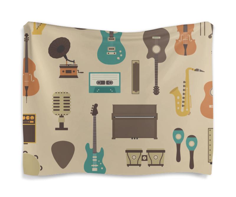 Printio Гобелен 180х145 Музыкальные инструменты
