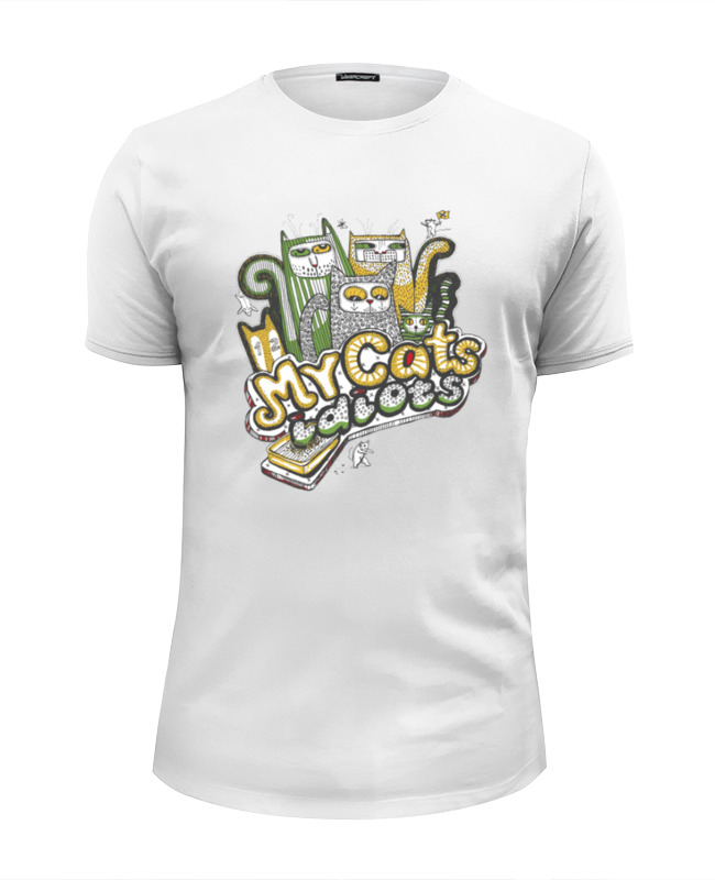 Фото - Printio Футболка Wearcraft Premium Slim Fit Мой кот идиот printio футболка wearcraft premium slim fit ты мой вирус