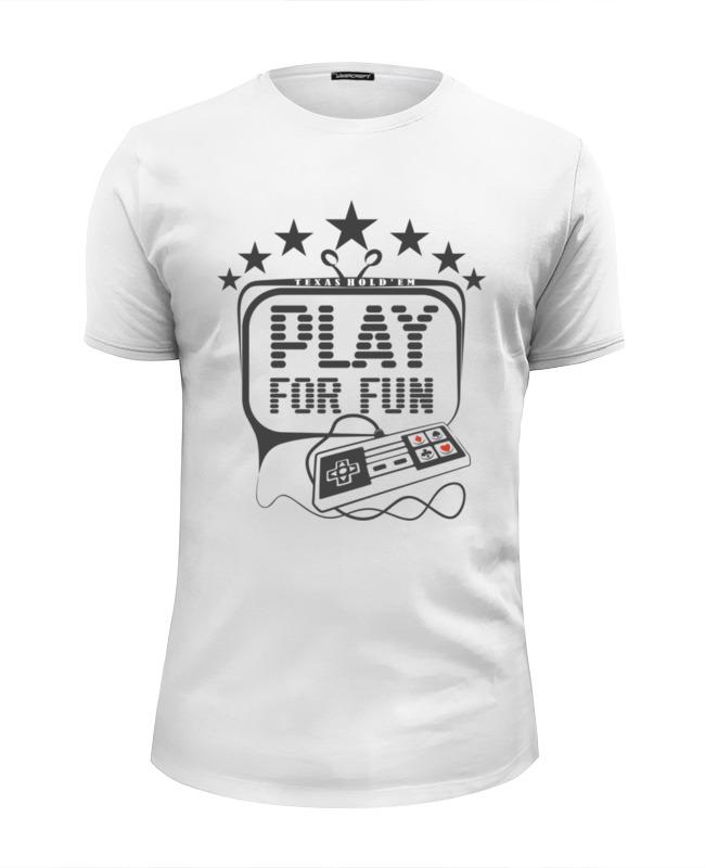 Printio Футболка Wearcraft Premium Slim Fit Покер
