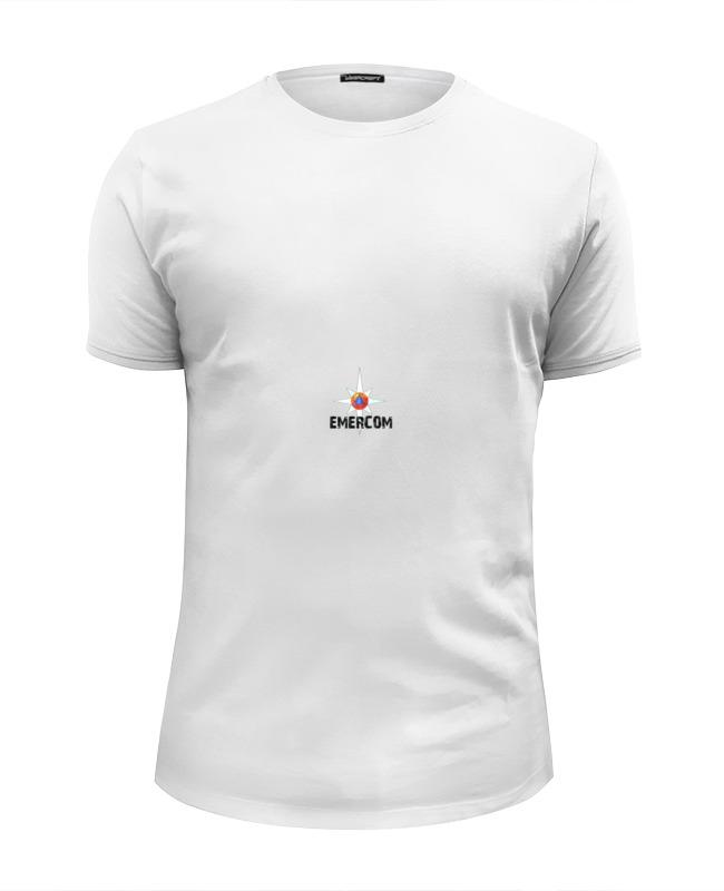 Printio Футболка Wearcraft Premium Slim Fit Мчс россии - emercom