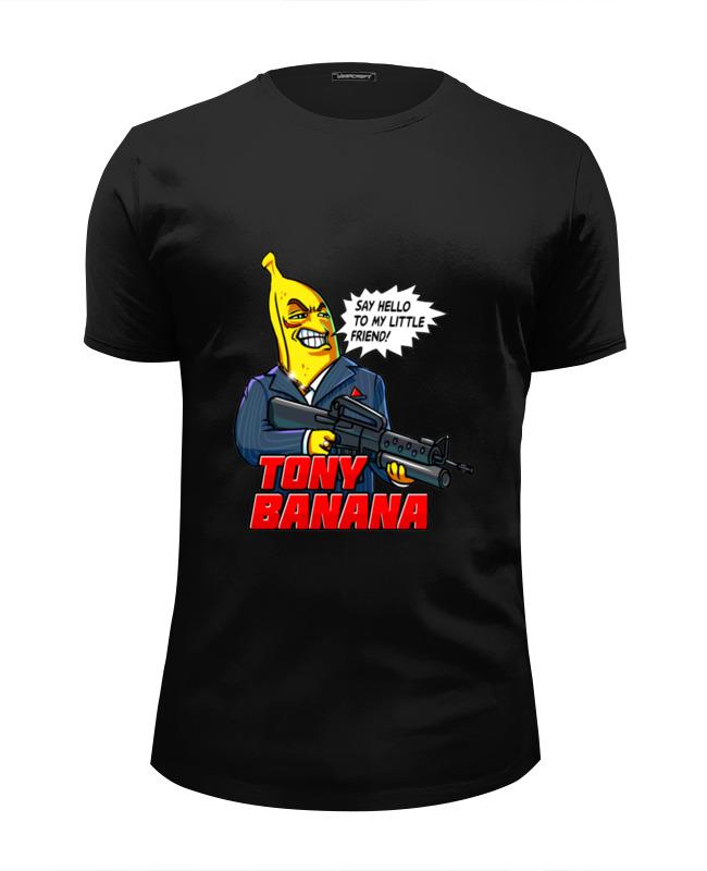 Printio Футболка Wearcraft Premium Slim Fit Tony banana