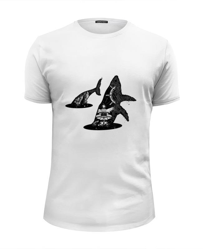 Printio Футболка Wearcraft Premium Slim Fit Кит и море футболка wearcraft premium printio пора на море