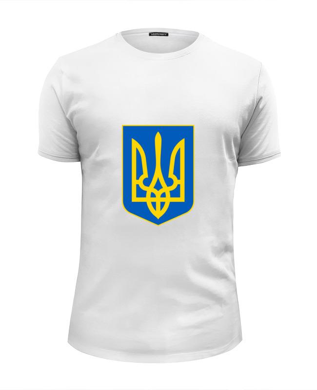 Printio Футболка Wearcraft Premium Slim Fit Герб украины