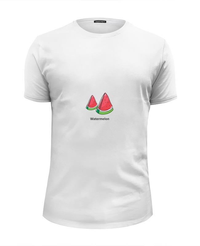 Printio Футболка Wearcraft Premium Slim Fit Watermelon — арбуз
