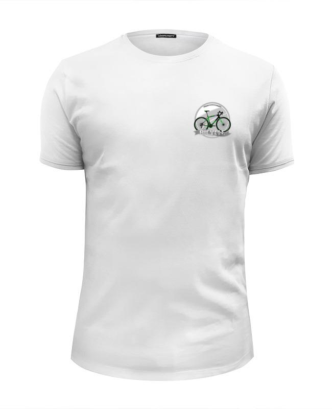Printio Футболка Wearcraft Premium Slim Fit Участник велосипедного соревнования.